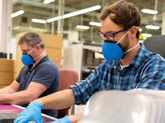 masks at work
